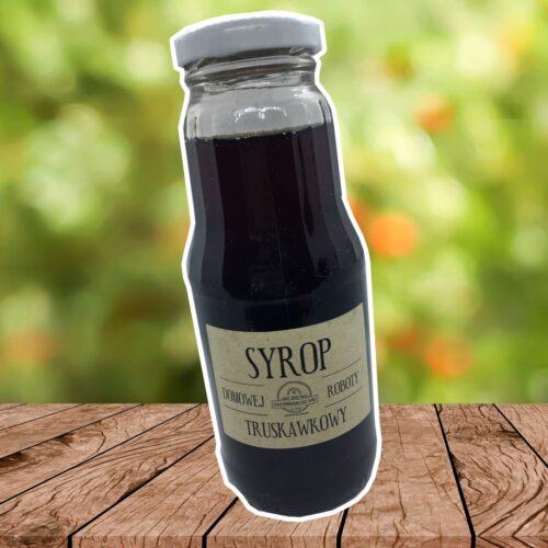 Syrop truskawkowy