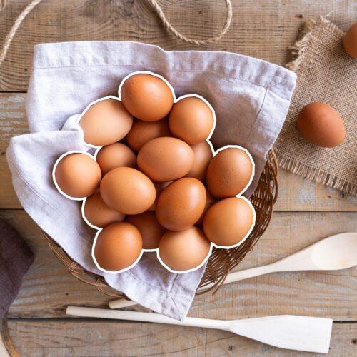 Świeże jaja zagrodowe